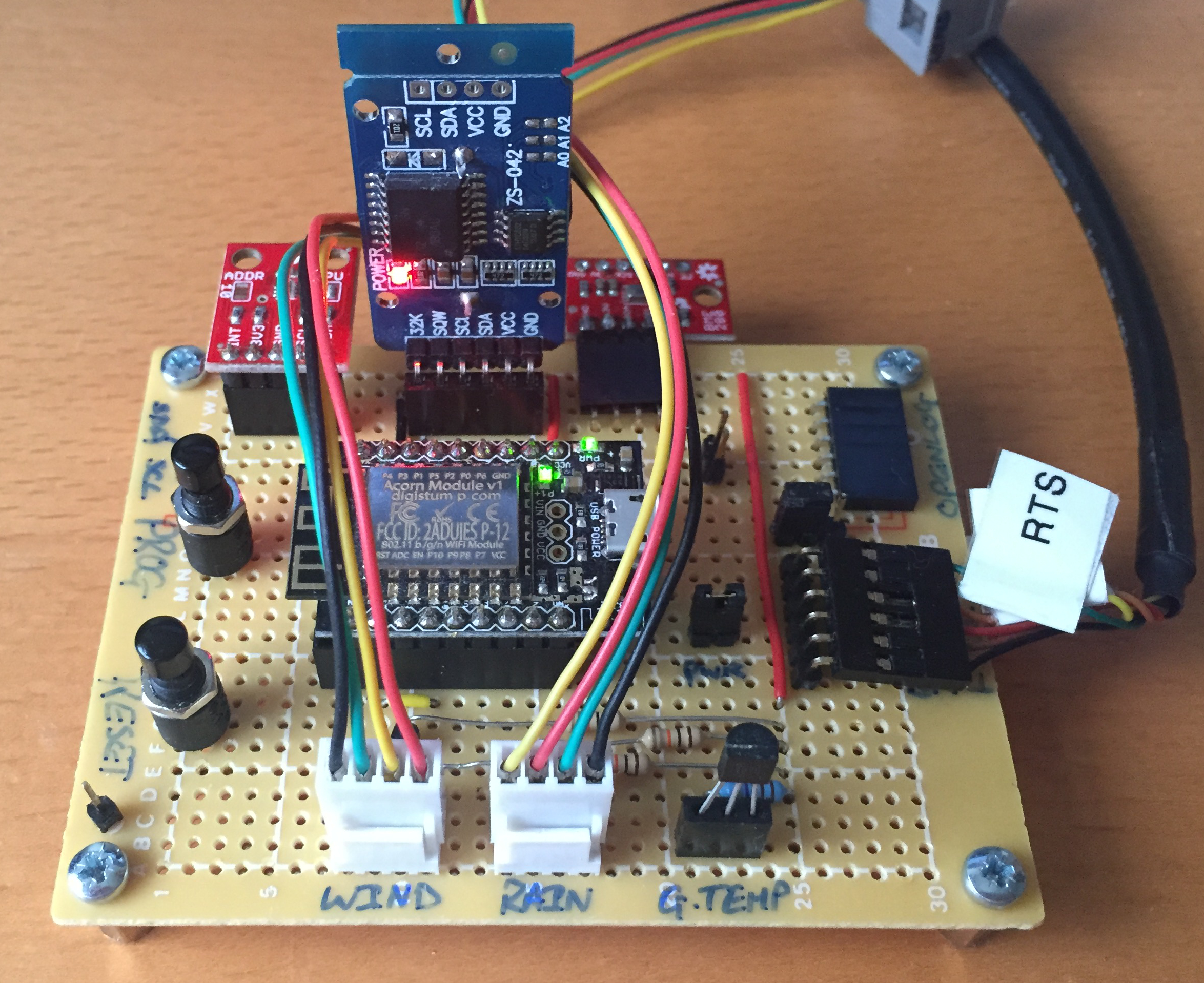 Silverlight Developer Esp8266 Archives Circuit Impedance Formula Photodiode Arduino Diagram Battery Weather Station Rev1 Protoboard