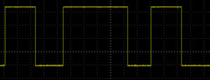 NE555 Reset Circuit Multiple Button Presses on Oscilloscope